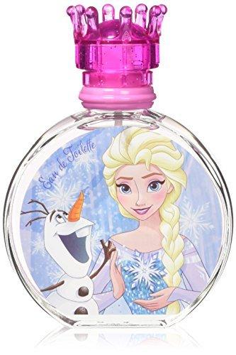 51tsCjY+g7L - Air-Val Disney Frozen Die Eiskönigin Kinder-Parfüm für Mädchen (Eau de Toilette) 100 ml im Glas-Flakon mit Krönchen-Verschluss (Parfum-Spray mit Vaporisateur)